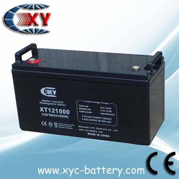 12V100AH VRLA battery