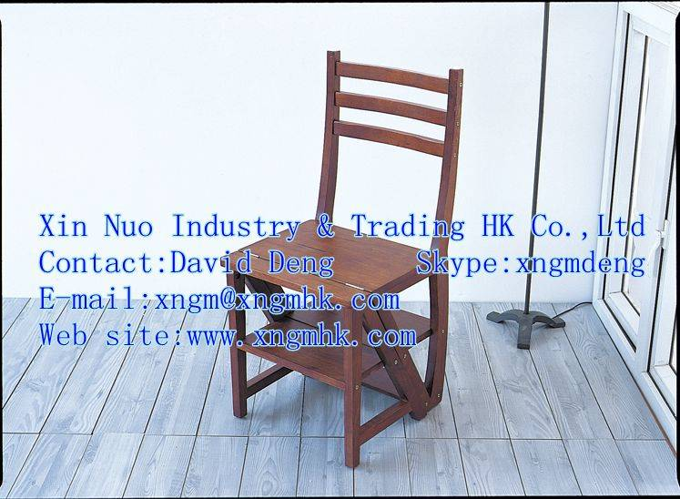 Wooden ladder chair , wooden dual chairs, wooden chairs, wooden ladders , wooden stools