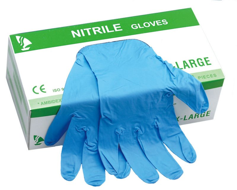 Powder-Free Nitrile Gloves - Non-Sterile Gloves