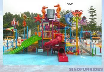 water playground for water park (water splash park)(water park equipment)