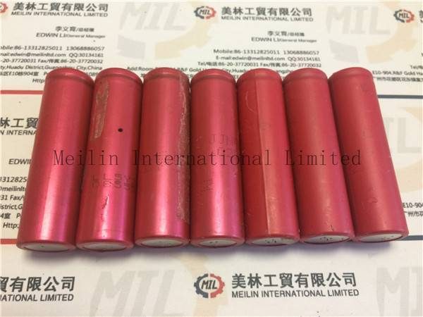 Used Sanyo 18650 Rechargeable Battery Cell Disassembled from Laptop Battery 3.7V 2200-2400mah Tested