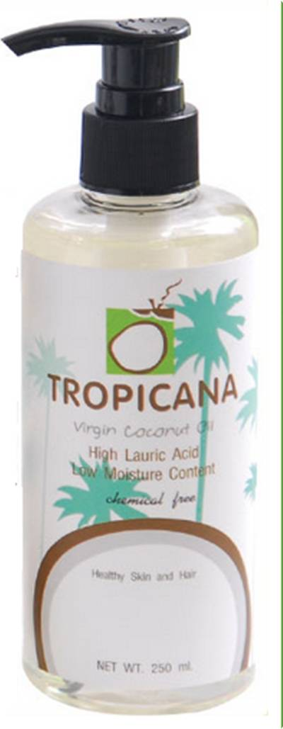 Tropicana Cold Pressed Virgin Coconut Oil 100% 250cc.