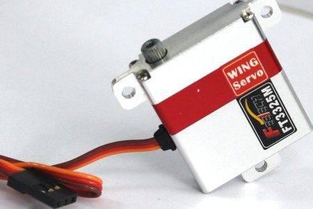 Mini All Metal Case Digital WING SLIM Servo FT3325M