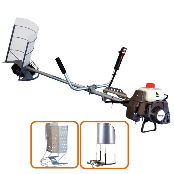 hot sales 40.2cc mini rice and wheat harvester