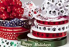 Printed Ribbon (PI-016),Christmas ribbon,printing ribbon,label