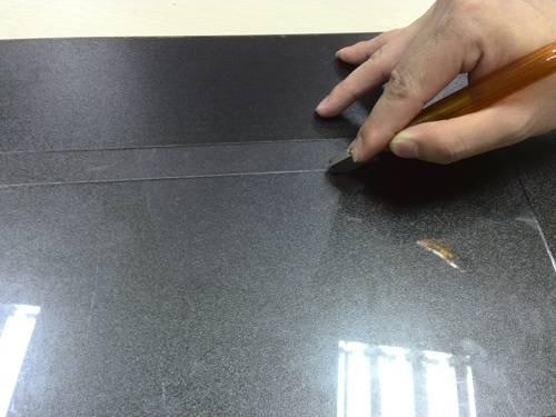 oil filled diamond glass cutter