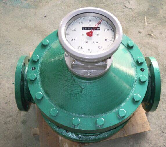 2014 hotsale smart oval gear oil flow meter with good ability