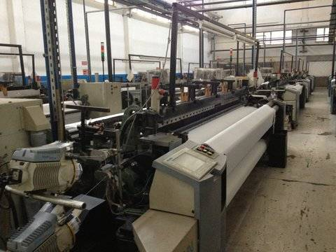 Picanol OmniPlus Airjet Looms 3.40 Dobby x 16 sets