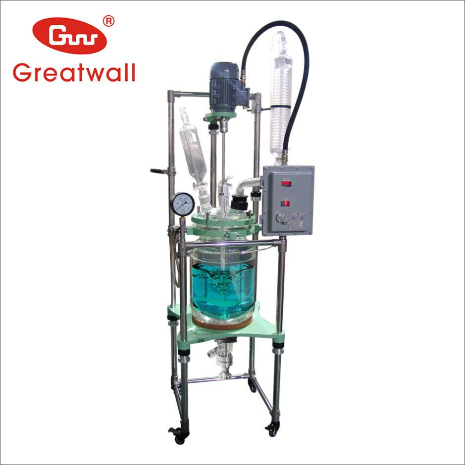 50L Borosilicate Jacketed Glass Reactor GR-50L