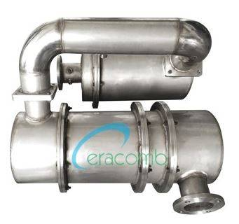 EURO5 PM-NOx After treatment system(DPF+SCR)