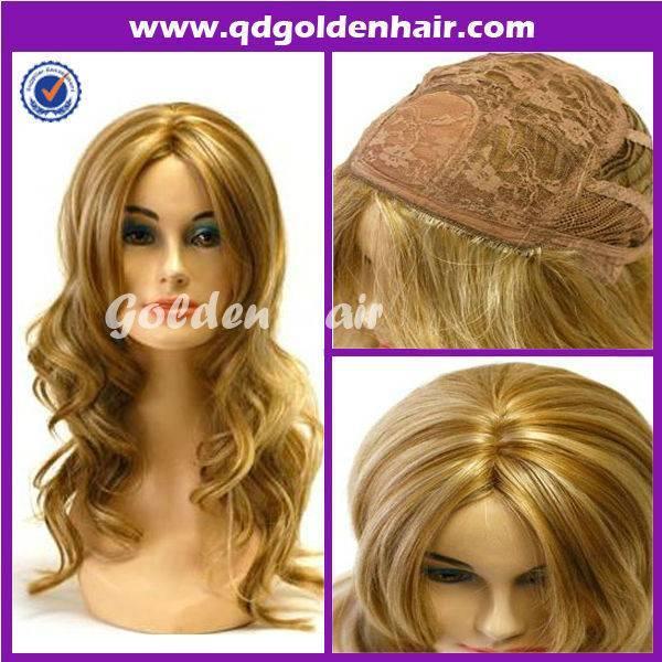 Golden Hair Glueless Premier Machine Made Wig