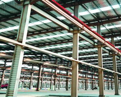 Corrugated Steel Web -Reduce Steel Weight 20%