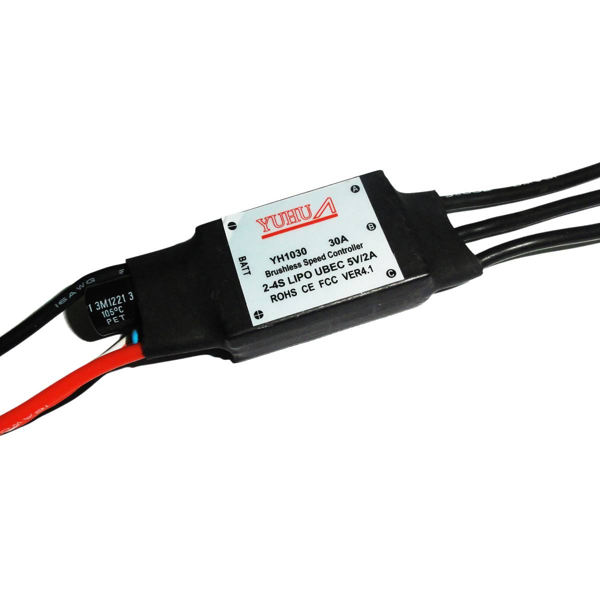 30A rc brushless programming esc for rc brushless motor for rc toys