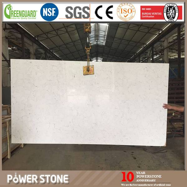 Carrara White Slabs From High Quality Quartz Stone