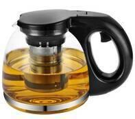 Transparent heat resistant glass teapot 1350ml