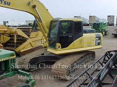 Used Komatsu PC60 PC120PC200 PC210 PC200-5 PC200-6 PC200-7 PC210-7 PC220 PC400-7 Excavators