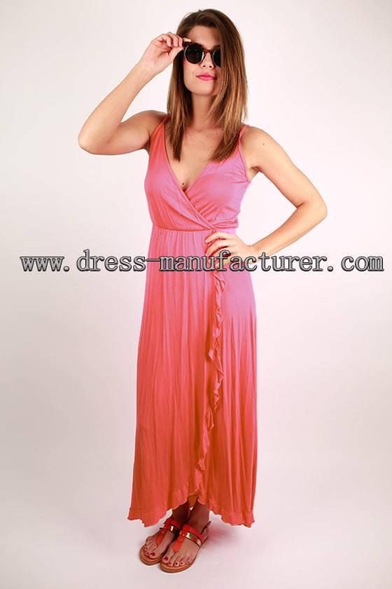 2015 new design Bohemian maxi Dress mature women dress
