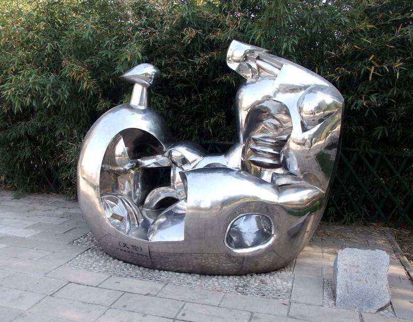 supply Stainless Steel Sculpture