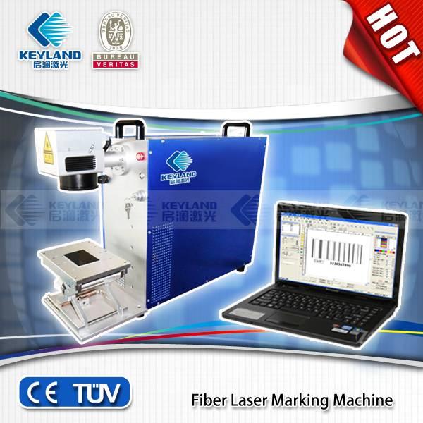 2014 China Best-Selling Fiber laser marking machine/laser machine/10W/20W/ laser wavelength:1064nm