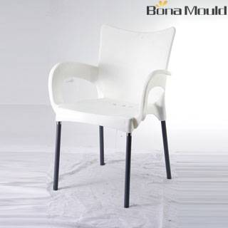 Plastic armchair mould