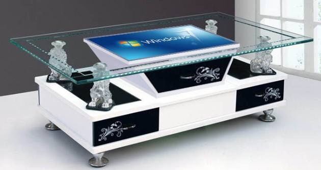 Infrared Multi Interactive Table, Touch Screen Coffee Table 6points to 64points (ETT-3206)