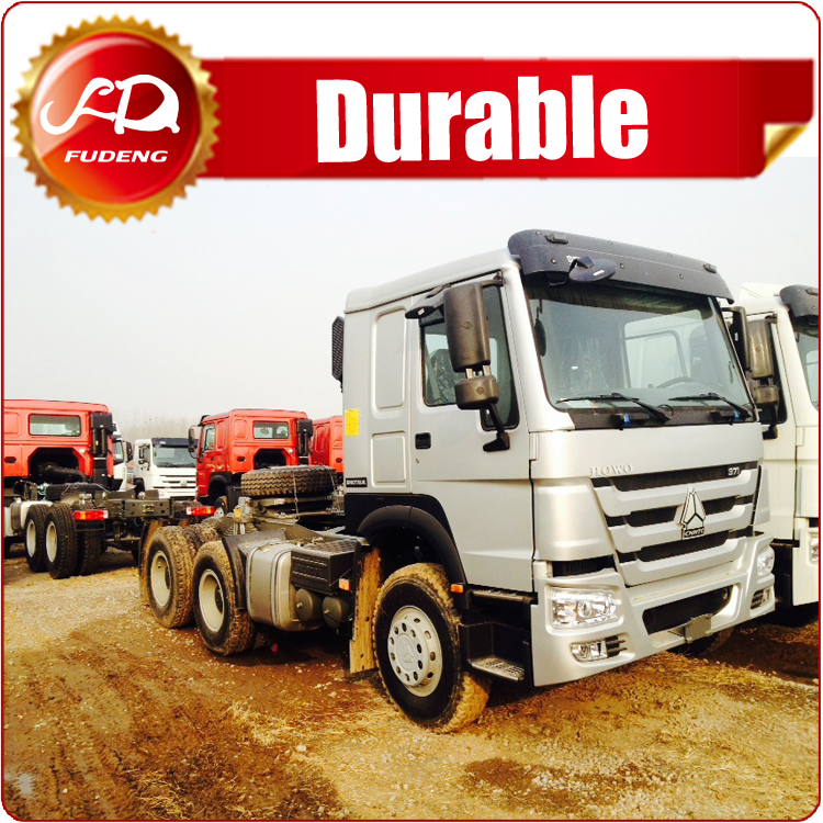 China direct supplier HOWO 64 tractor truck / used truck trailer for sale