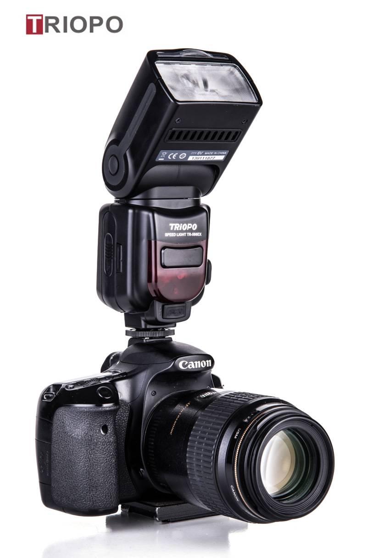 TRIOPO TR-586 dslr camera speedlite studio flash light,manufacture TTL flashgun with slave flash fo