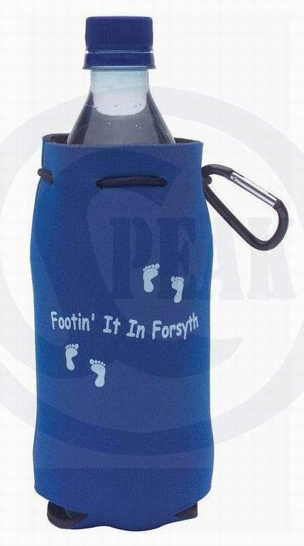 insulated water/beverage neoprene bottle cooler/holder