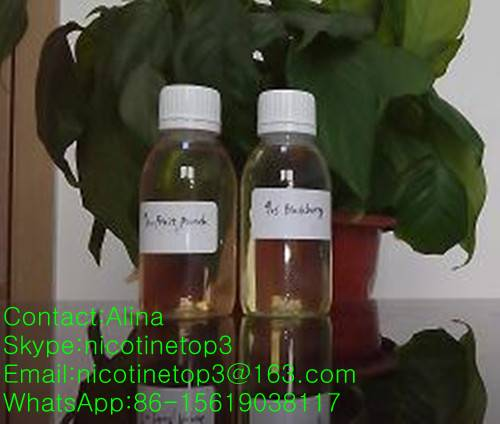 supply high quality pure nicotine and all kinds of flavor for E-liquid