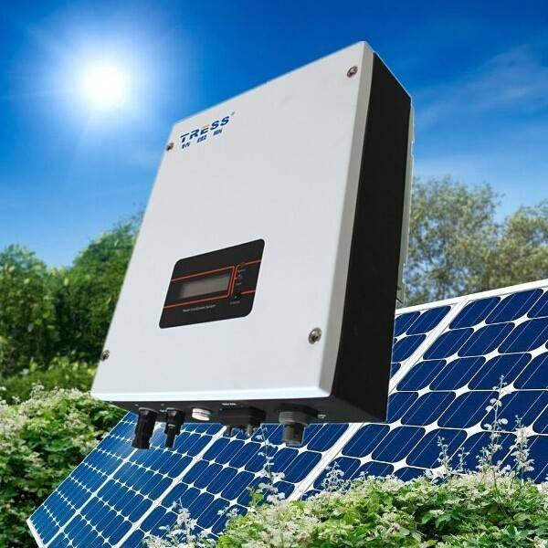 Grid tie solar inverter Tress