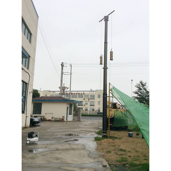 15m super heavy duty pneumatic telescopic mast for telecommunication tower