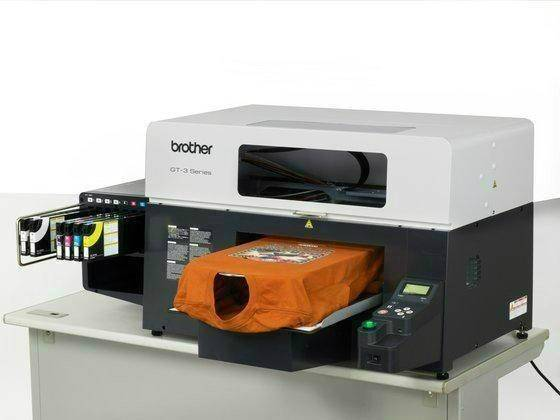 Brother GT-361 DTG Direct To Garment T-SHIRT Fabric Clothes Textile Flatbed InkJet Printer