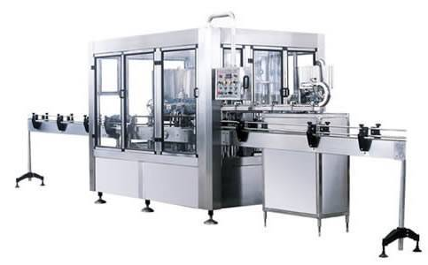 3-in-1 rinser filler capper monobloc juice tea hot filling bottling machine