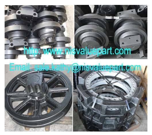 Sell UNDERCARRIAGE PARTS FOR HITACHI KH180-3 Crawler Crane