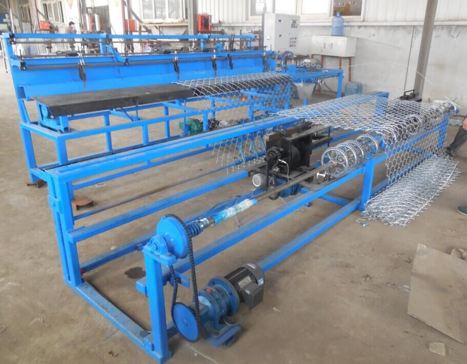 Sell Automatic Chain link fence machine(double wire)