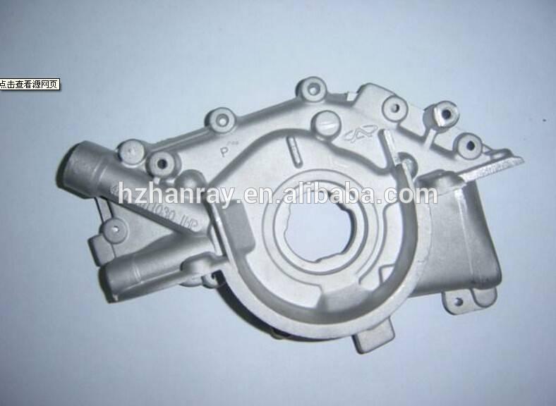 aluminum pump cover