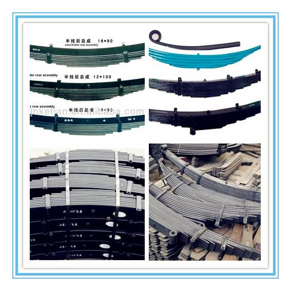 TRA leaf spring , leaf spring for bogie, leaf spring for mechnical suspension
