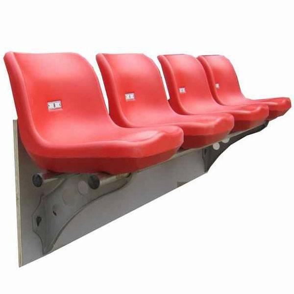 Outdoor blow molding plastic football stadium seat