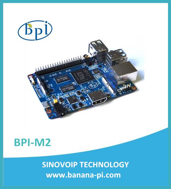 banana pi BPI-M2 quad core single-board computer
