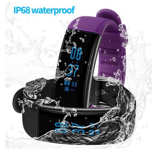IP68 Sport Heart Rate Blood Oxygen Smart Watch