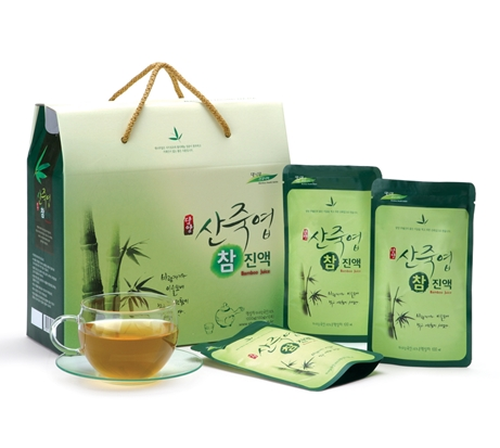 Bamboo Leaf Juice(100ml10EA) in South Korea