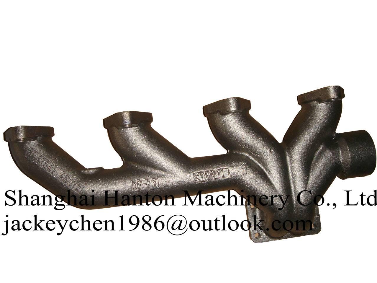 Sell Cummins 6LT diesel engine exhaust manifold 3968362 3943841