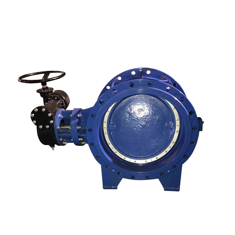 Double triple eccentric/offset butterfly valve