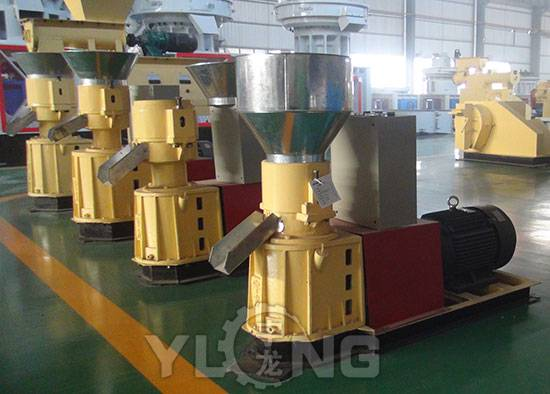 Flat die wood pellet machine with competitive price