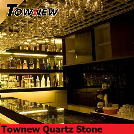 luxury bar top countertop use quartz stone TNC-5053