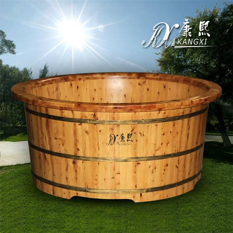 Round hot tub Outdoor portable massage tub shower tub