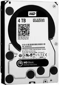 Western Digital WD4003FZEX WD Black 4TB Internal HDD 3.5 Desktop Hard Drive Disk