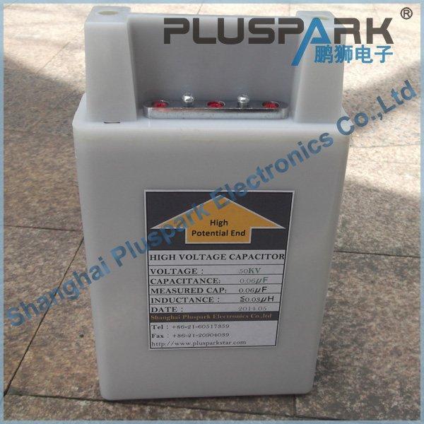 High Voltage Capacitor 0.01uF 60kV 10nF