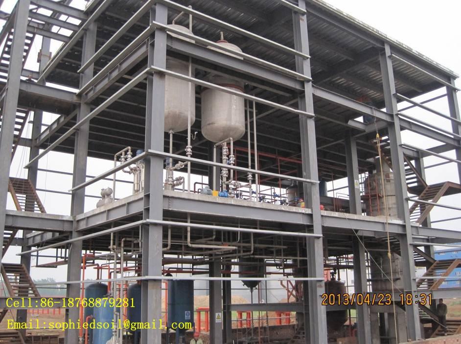 soya bean oil press refinery machine