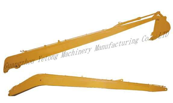 Construction Accessories Excavator Boom And Stick With Q345B , NM360 Material